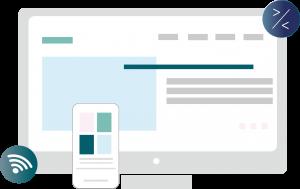 webdesign og udvikling af hjemmeside for online markedsføring