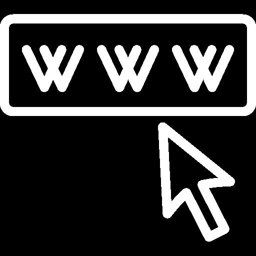 www hjemmeside ikon